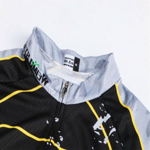 USA Flag Jersey Men's Sportswear Breathable MTB Jersey