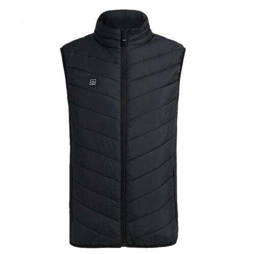 USB Electric Vest Women Jacket