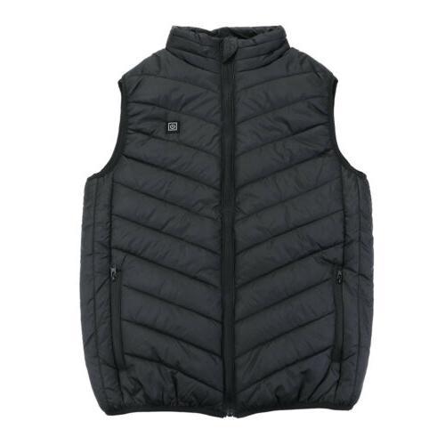 USB Warm Vest Jacket Rechargeable Heating