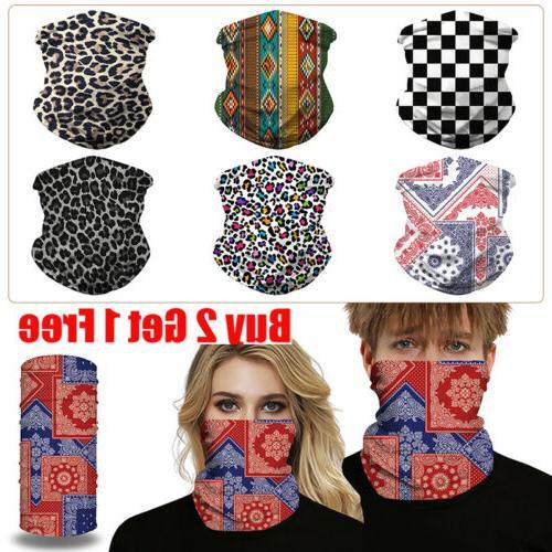 uv protection face shield tube mask scarf