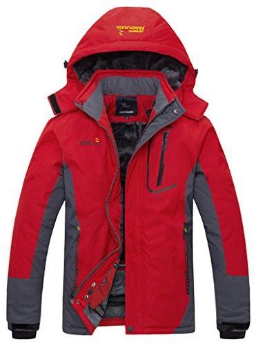 WantDo Waterproof Mountain Jacket Windproof Jacket
