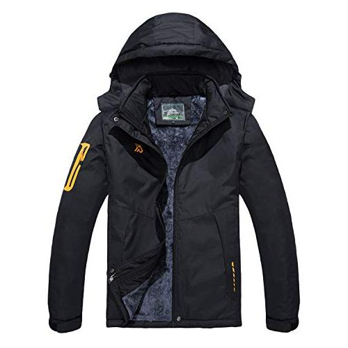 waterproof mountain ski jacket windproof