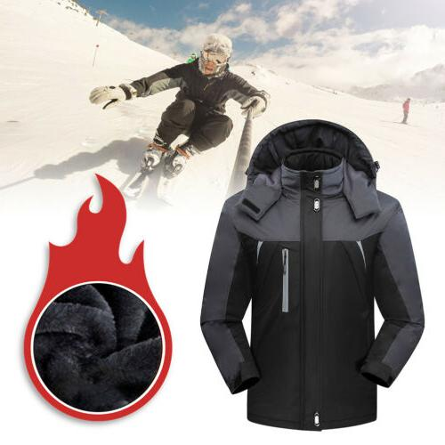 Waterproof Windproof Warm Coat Snow Jacket Outwear Outdoor Clothes