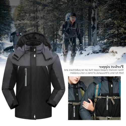 Waterproof Coat Snow Winter Jacket Outwear Outdoor