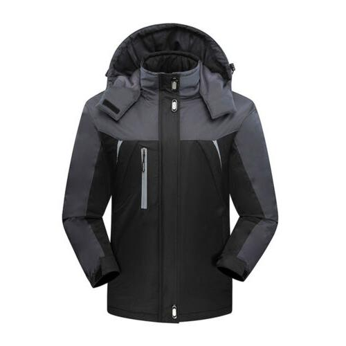 Waterproof Men Coat Winter Outwear