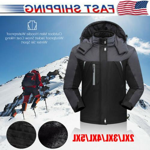 waterproof windproof men warm coat snow winter