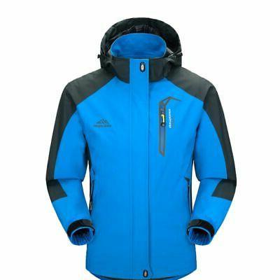 waterproof windproof men warm coat snow winter