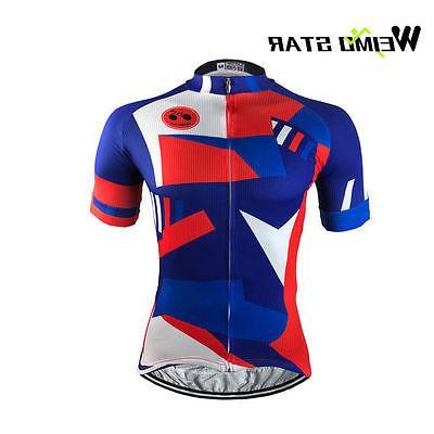 WEIMOSTAR Bike Men's Short Jerseys T-shirts