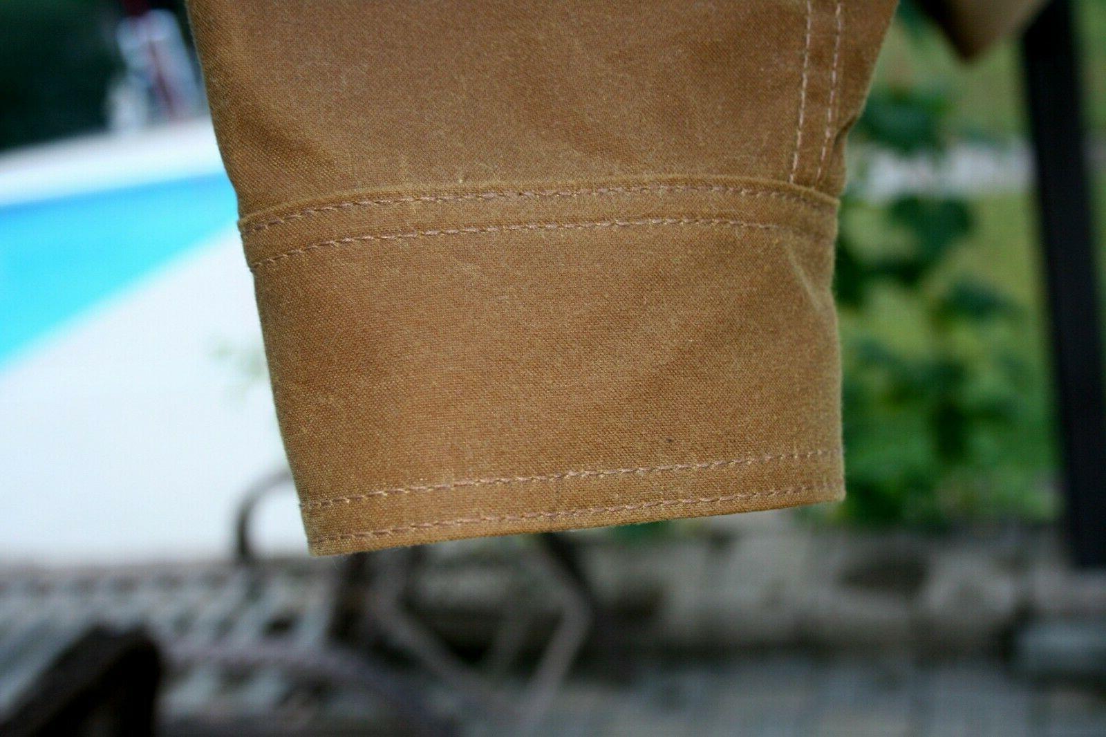 Filson waxed style Men's L MSRP