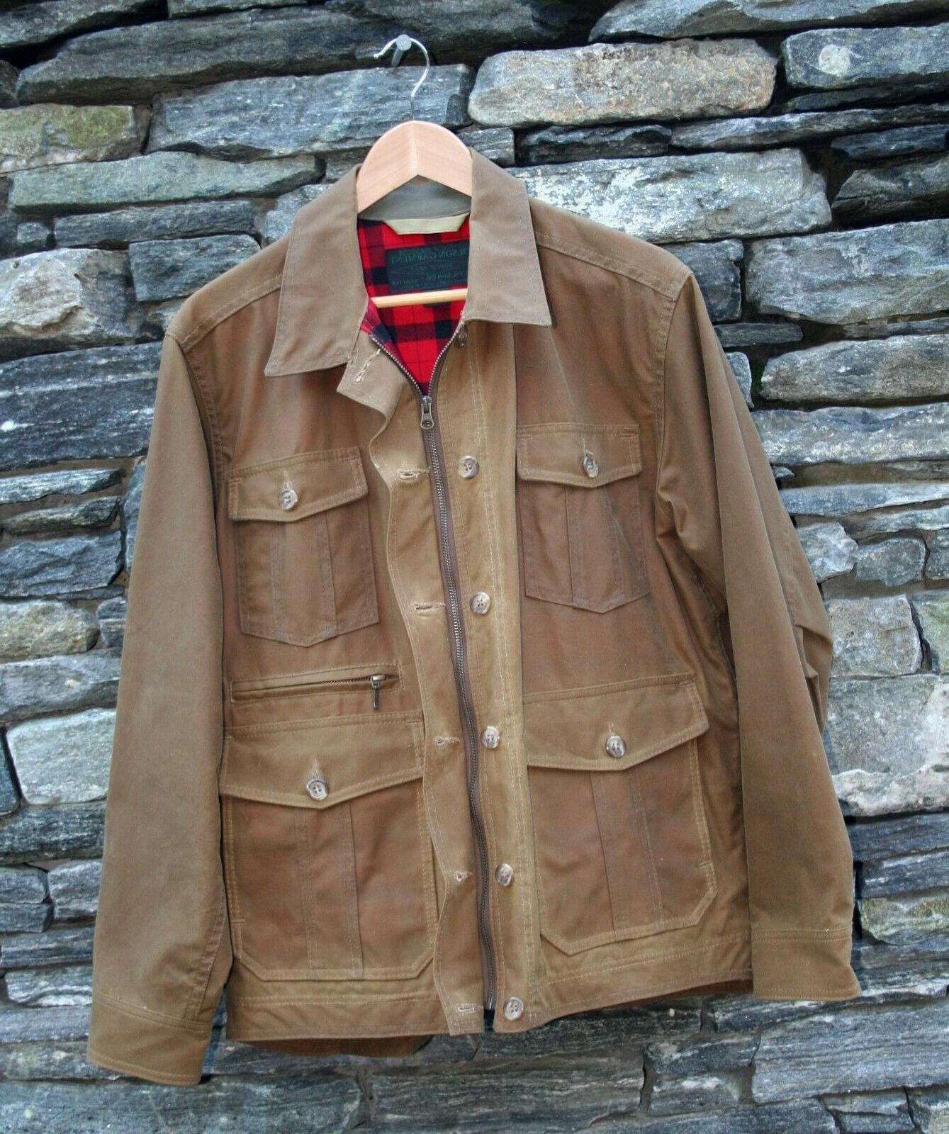 Filson Westlake waxed jacket style Men's L - MSRP