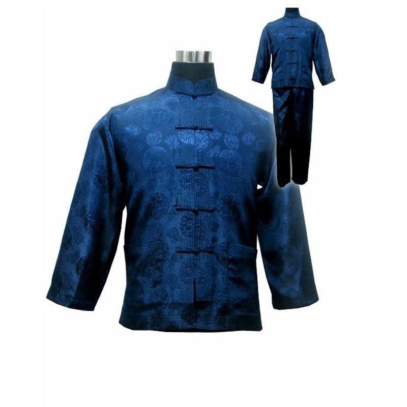 Kung Fu Suit Traditional Wu Sets Uniform <font><b>Clothing</b></font> 011311