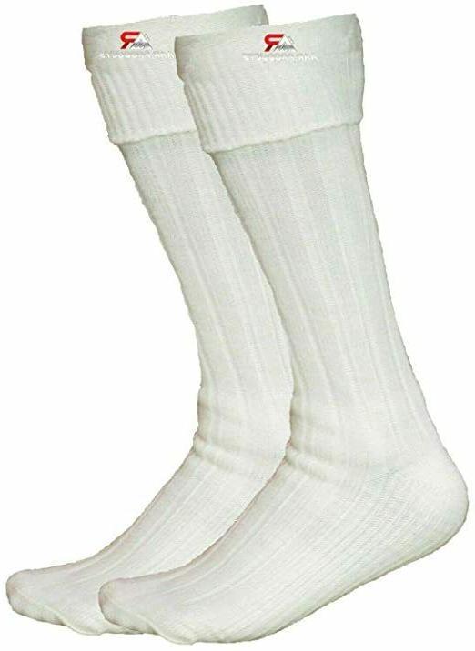 white kilt hose socks