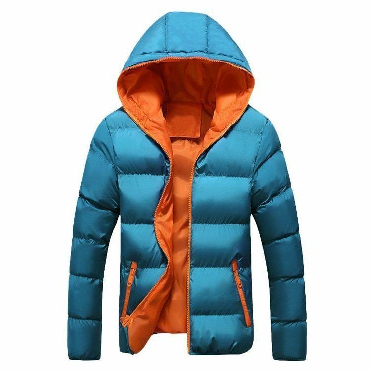 Winter Zipper Men's Coats Clothe