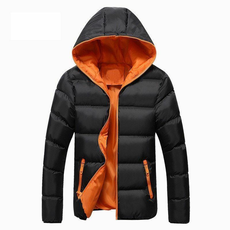 Winter Jacket Zipper Men's