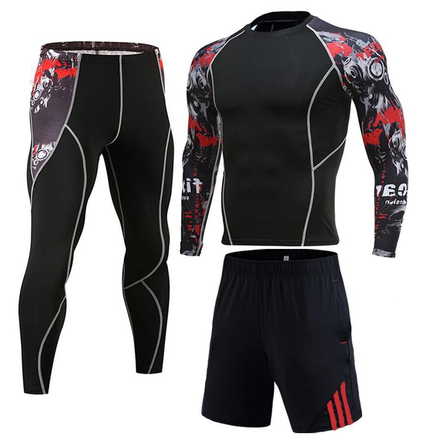Winter Jogging Full Man For Sports Suit <font><b>clothing</b></font> <font><b>Cycling</b></font> 3D head