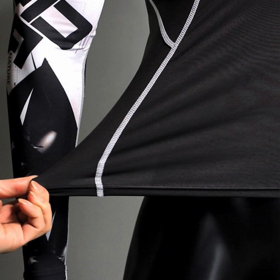 Winter Jogging Suit Man tracksuit Underwear For Sports Suit Gym <font><b>clothing</b></font> <font><b>Cycling</b></font> 3D head