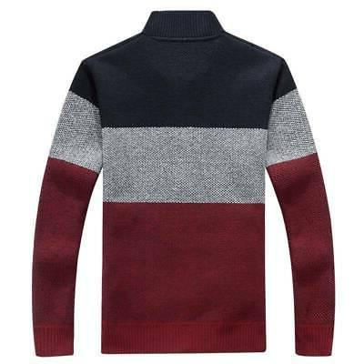 Winter Thick Cardigan Coats Mens Clothing