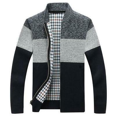 winter men s jackets thick cardigan coats