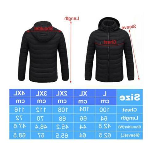 Winter Vest Jacket Coat Socks Heating Clothing