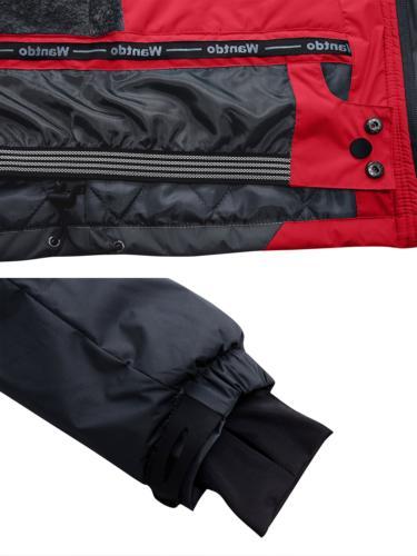 Fleece Ski Windproof Rain Jacket,