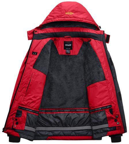 Wantdo Fleece Rain Red