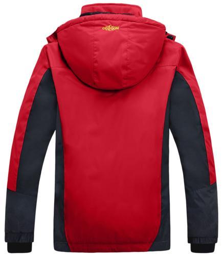 Wantdo Mountain Fleece Ski Jacket Rain