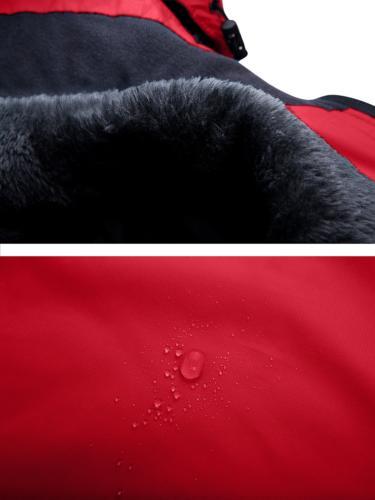 Wantdo Fleece Rain Jacket,