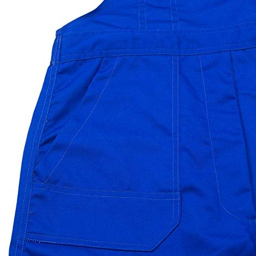 TOPTIE oz Men's Overall with Pockets Blue