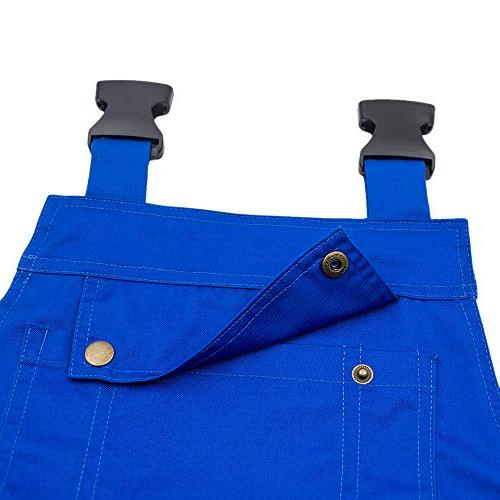 TOPTIE 8.5 Men's Bib with Tool Blue