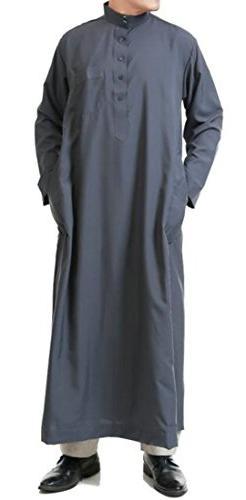 XiaoTianXin-men clothes XTX Men's Muslim Abaya Turkey Long S