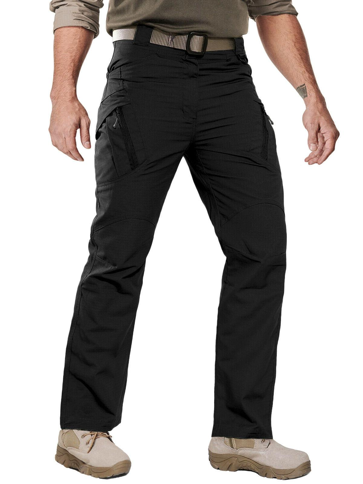 Zip Mens Tactical Cargo Rip-stop Pants UTP Trousers