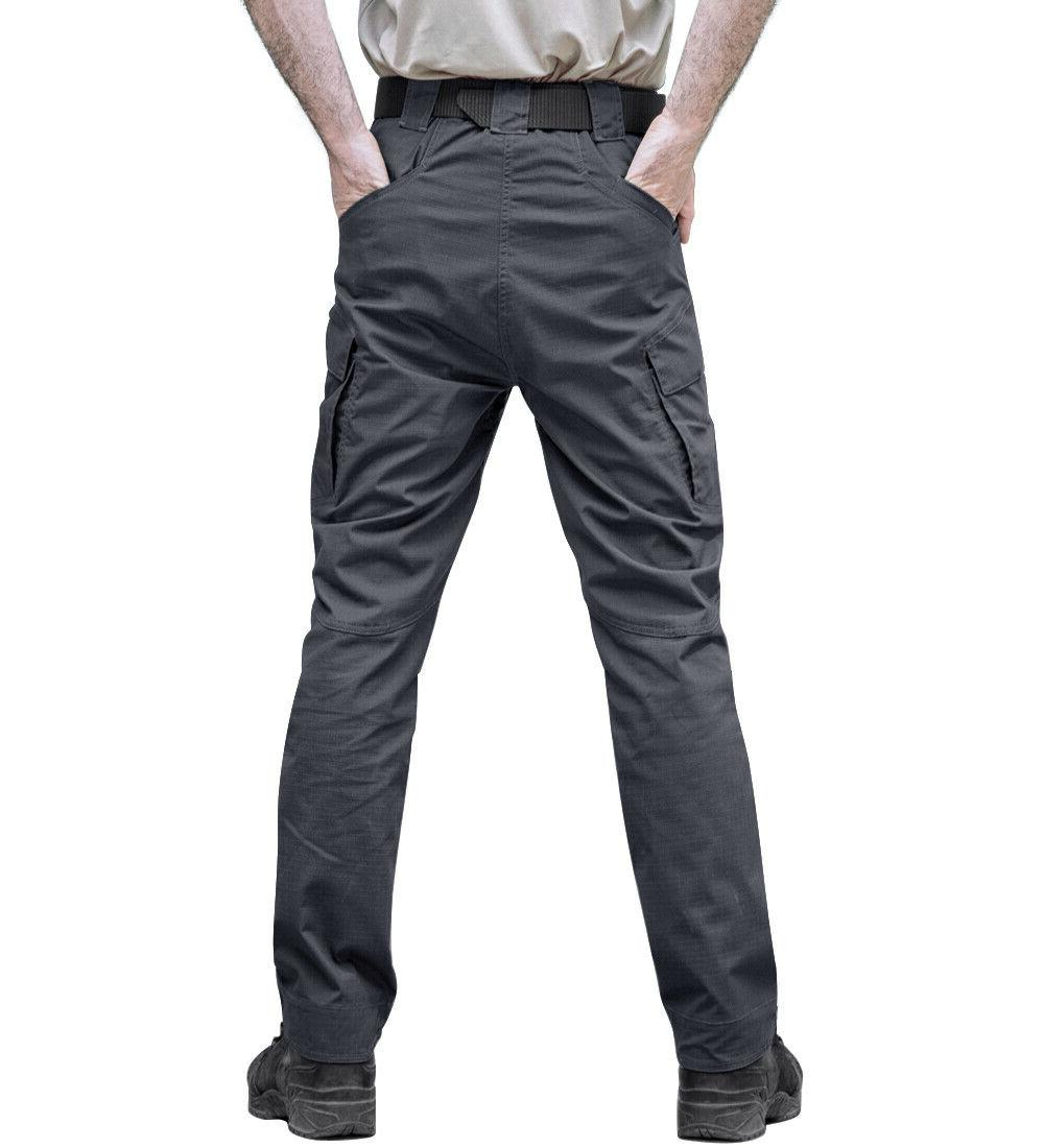 Zip Mens Cargo Safari Rip-stop Pants