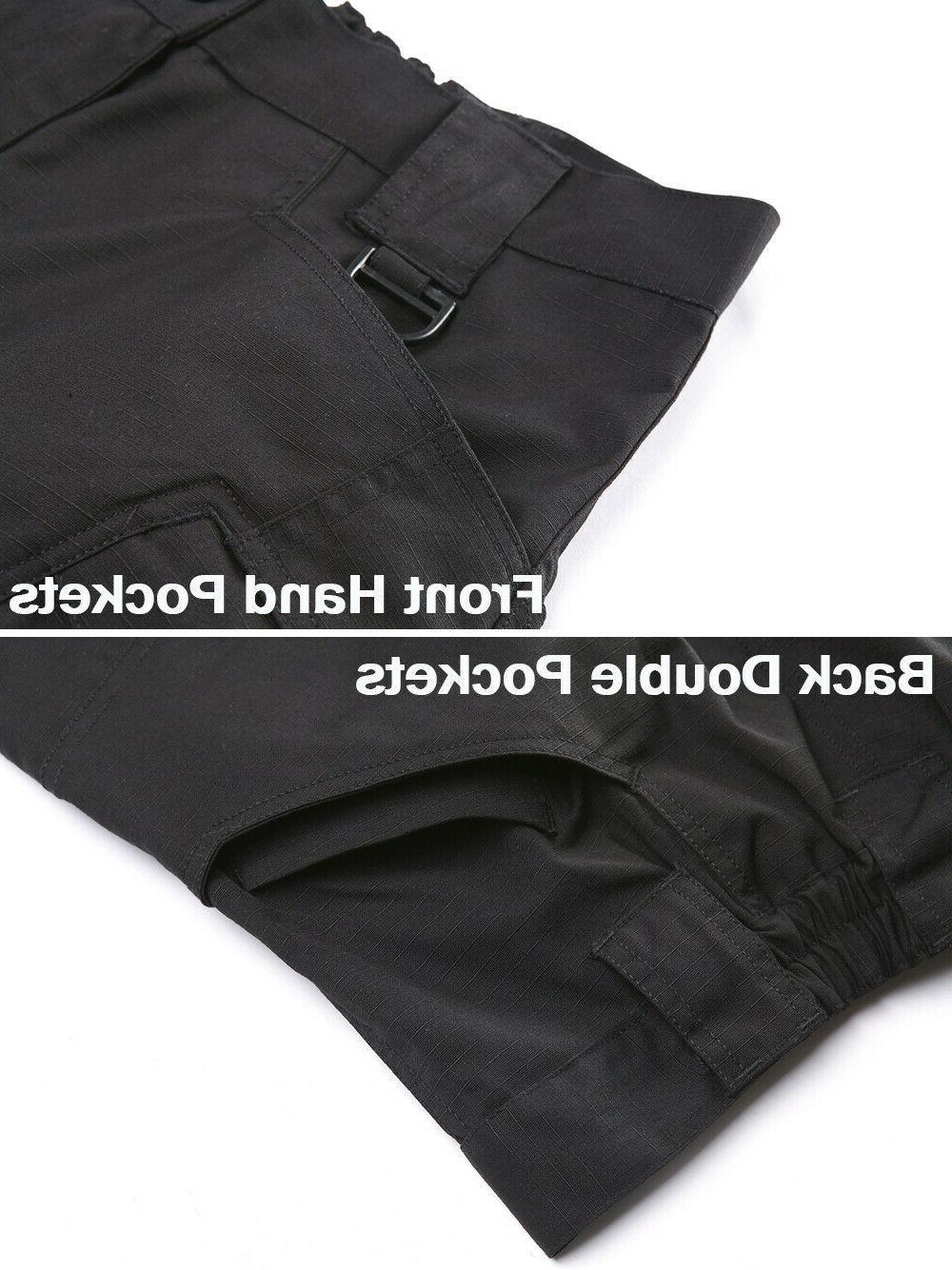 Zip Pockets Cargo Pants Safari