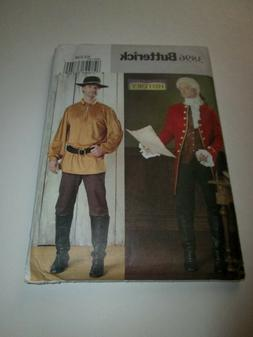 Butterick MAKING HISTORY Men's 18th Century Clothes PATTERN