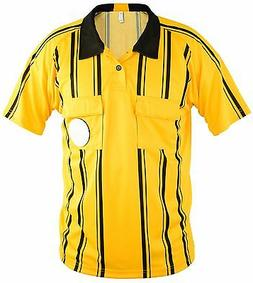 Mato & Hash Men's Soccer Referee Jersey Polo Sports Ref Offi
