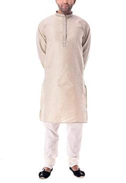 CRAFTSTRIBE Indian Traditional Wear Kurta Churidar Men Desig
