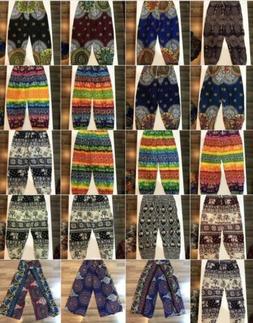 Men or Women's Harem Pants Bohemian Clothes Boho Yoga Hippie
