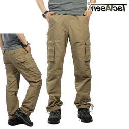 TACVASEN Men Quick Dry Convertible Pants Cargo Shorts Zip-Of