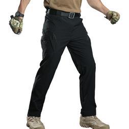 TACVASEN Men Quick Dry IX9 Tactical Pants Safari Trousers Hi