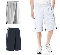 Adidas Men's 3G Speed 2.0 Iconic 3-Stripe Basketball Shorts