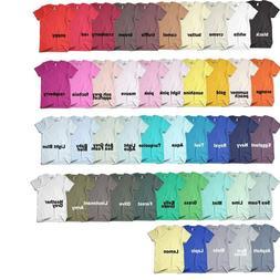 American Apparel Men's 50/50 Crewneck T-Shirt, Sizes S-2XL,