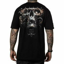 Sullen Men's Annihilation Short Sleeve T Shirt Black Clothin