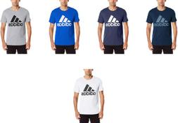 adidas Men's Badge of Sport Graphic Tee, 6 Colors