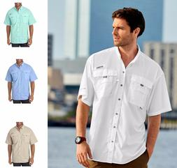 Columbia Men's Bahama II PFG Short-Sleeve Shirt Fishing S-3X