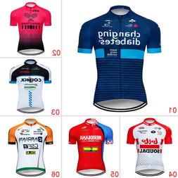 Men's Bike Cycling Jerseys Breathable Jersey Clothing Summer