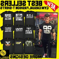 Men's Bodybuilding Fitness Training Workout Casual Gym Cloth