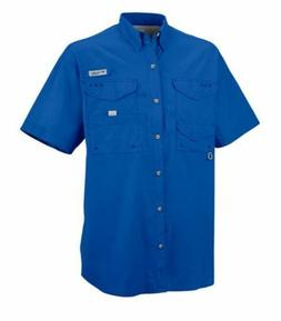COLUMBIA MEN'S BONEHEAD PFG FISHING SHORT SLEEVE SHIRT M L X