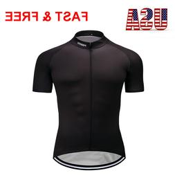 Men's Brief Black Cycling Jersey Bike Riding Tops Clothing S