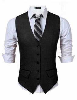 men s business suit vest slim fit
