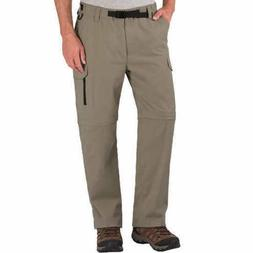 BC Clothing Men's Convertible Stretch Cargo Hiking Pants or